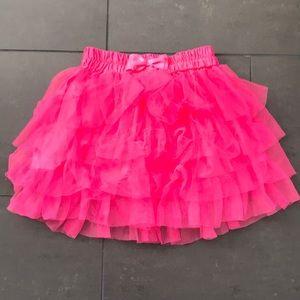 Halloween neon pink tutu